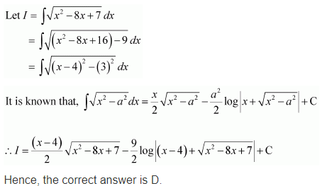 Exercise 7.7 Class 12 Maths Q 11