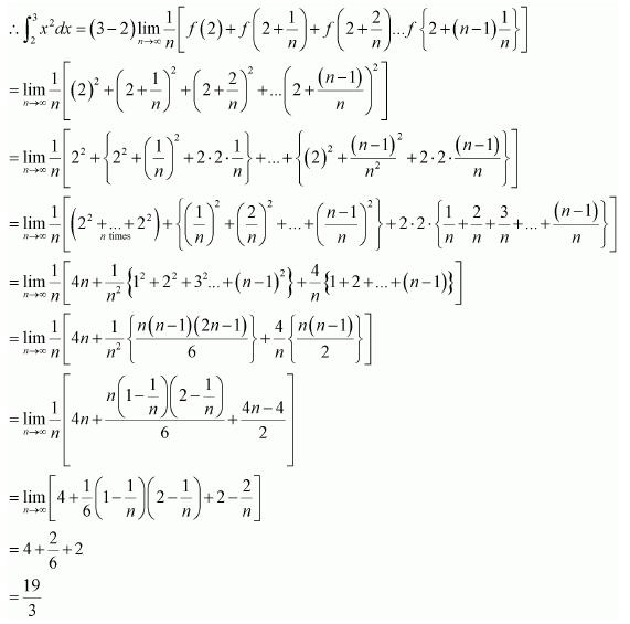 Maths NCERT Class 12 Ex 7.8 Q 3 -i