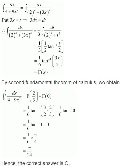 Maths NCERT Class 12 Solutions Ex 7.9 Q 22