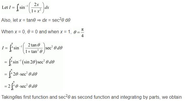 NCERT Class 12 Solutions Integrals Ex 7.10 Q 6