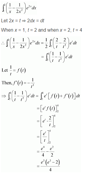 NCERT Maths 12 Solutions Ex 7.10 Q 16