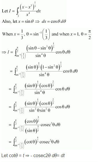 NCERT Maths 12 Solutions Ex 7.10 Q 17
