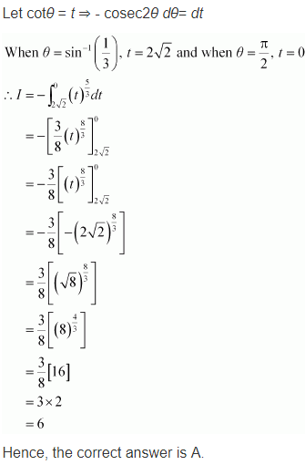 NCERT Maths 12 Solutions Ex 7.10 Q 18 - i