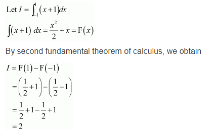 NCERT Solutions for Class 12 Maths Chapter 7 Ex 7.9 Q 1