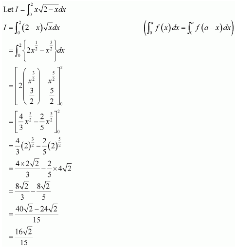 NCERT solutions for class 12 maths Ex 7.11 Sol 16