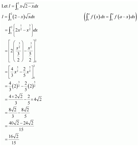 NCERT solutions for class 12 maths Ex 7.11 Sol 17