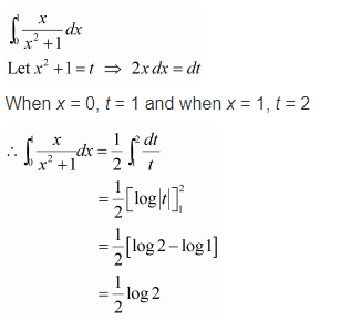 NCERT Solutions of Class 12 Maths Chapter 7 Integrals Ex 7.10 Q 1