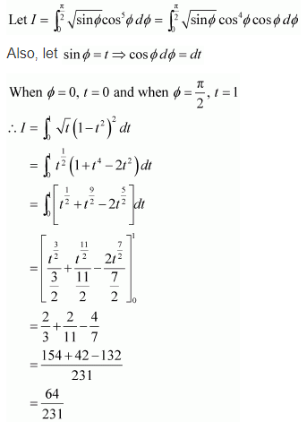 NCERT Solutions of Class 12 Maths Chapter 7 Integrals Ex 7.10 Q 4