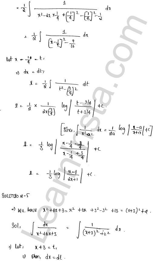 RD Sharma Class 12 Maths Solutions Chapter 19 Indefinite Integrals Ex 19.15 4