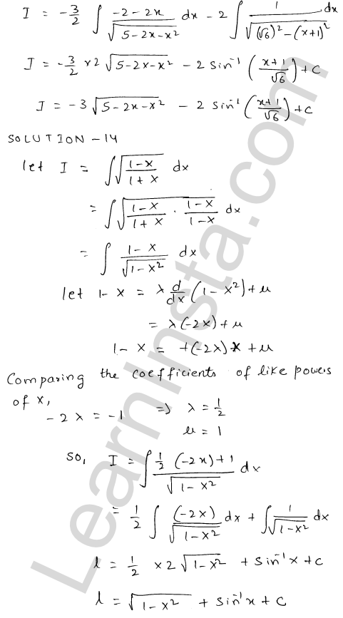 RD Sharma Class 12 Maths Solutions Chapter 19 Indefinite Integrals Ex 19.21 11