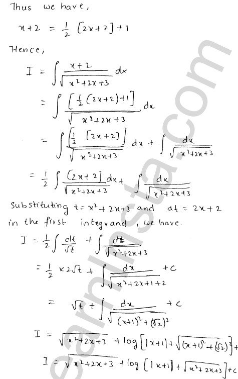 RD Sharma Class 12 Solutions Chapter 19 Indefinite Integrals Ex 19.21 15