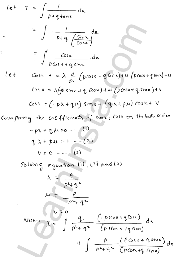 RD Sharma Class 12 Maths Solutions Chapter 19 Indefinite Integrals Ex 19.24 4