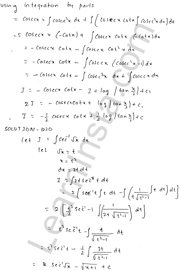 RD Sharma Class 12 Maths Solutions Chapter 19 Indefinite Integrals Ex 19.25 14