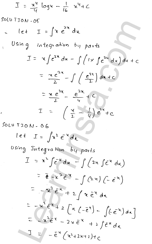 RD Sharma Class 12 Solutions Chapter 19 Indefinite Integrals Ex 19.25 2