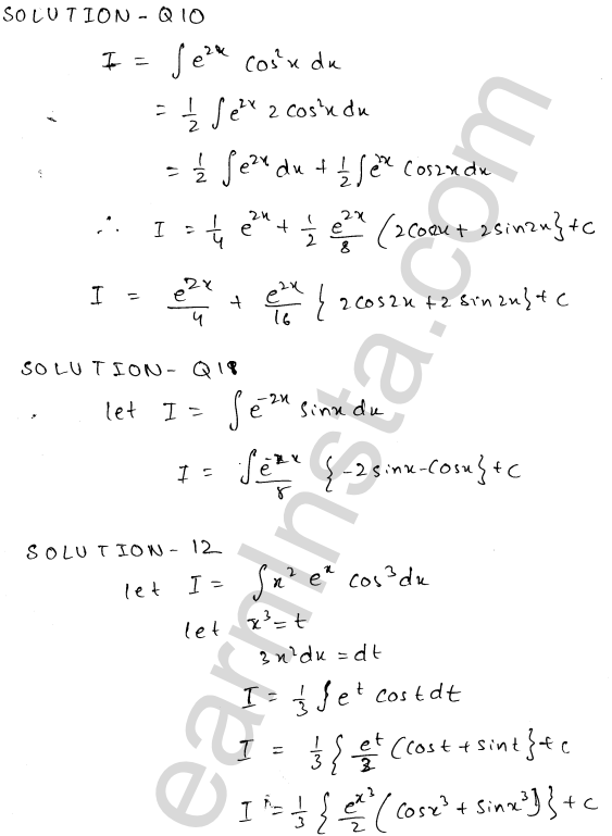 Solution of RD Sharma class 12 chapter 19 Indefinite Integrals Ex 19.27 5