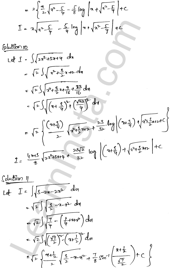 RD Sharma Class 12 Maths Solutions Chapter 19 Indefinite Integrals Ex 19.28 4