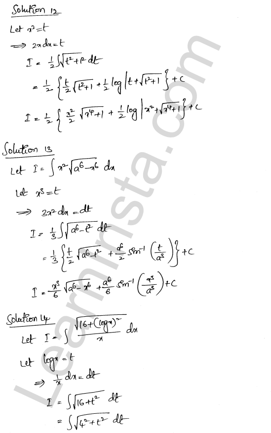 Solution of RD Sharma class 12 chapter 19 Indefinite Integrals Ex 19.28 5
