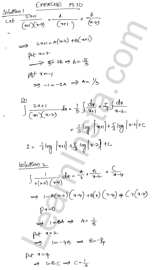 RD Sharma Class 12 Solutions Chapter 19 Indefinite Integrals Ex 19.30 1