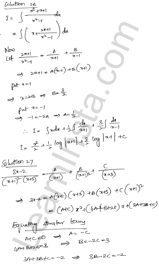 RD Sharma Class 12 Maths Solutions Chapter 19 Indefinite Integrals Ex 19.30 18