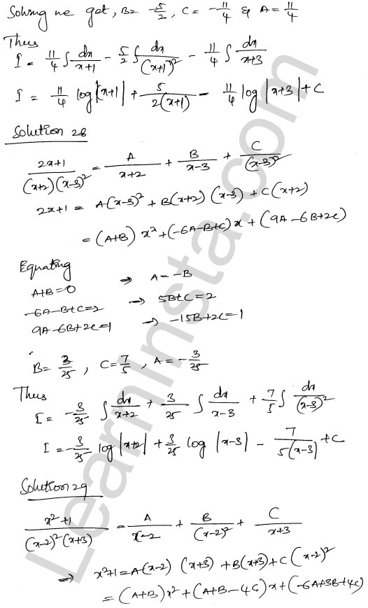 RD Sharma Class 12 Maths Solutions Chapter 19 Indefinite Integrals Ex 19.30 19