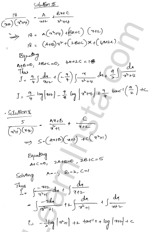 Solution of RD Sharma class 12 chapter 19 Indefinite Integrals Ex 19.30 23