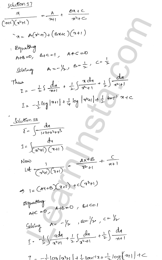 Solution of RD Sharma class 12 chapter 19 Indefinite Integrals Ex 19.30 24