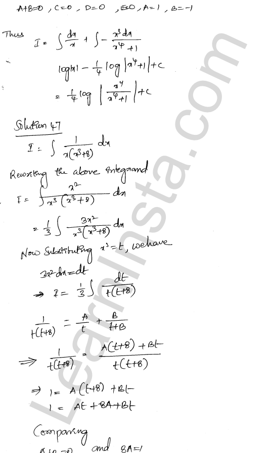 Class 12 RD Sharma solutions chapter 19 Indefinite Integrals Ex 19.30 30