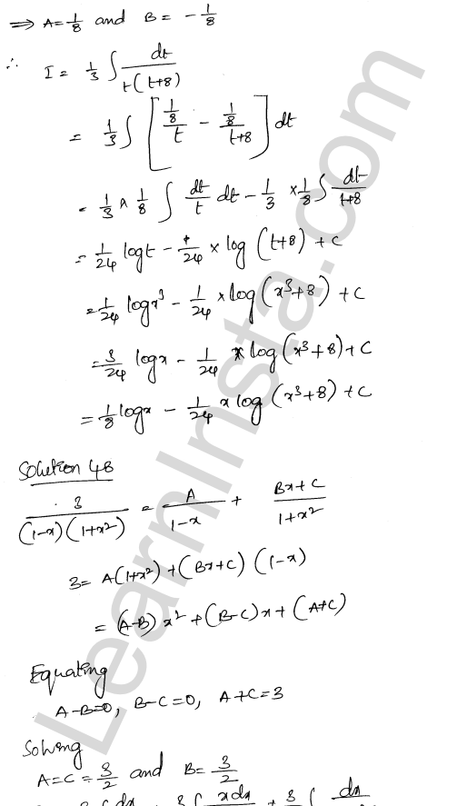 Class 12 RD Sharma solutions chapter 19 Indefinite Integrals Ex 19.30 31