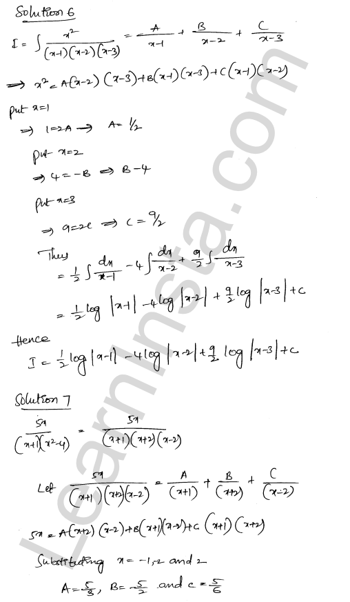 RD Sharma Class 12 Solutions Chapter 19 Indefinite Integrals Ex 19.30 4