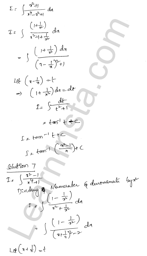 Solution of RD Sharma class 12 chapter 19 Indefinite Integrals Ex 19.31 5