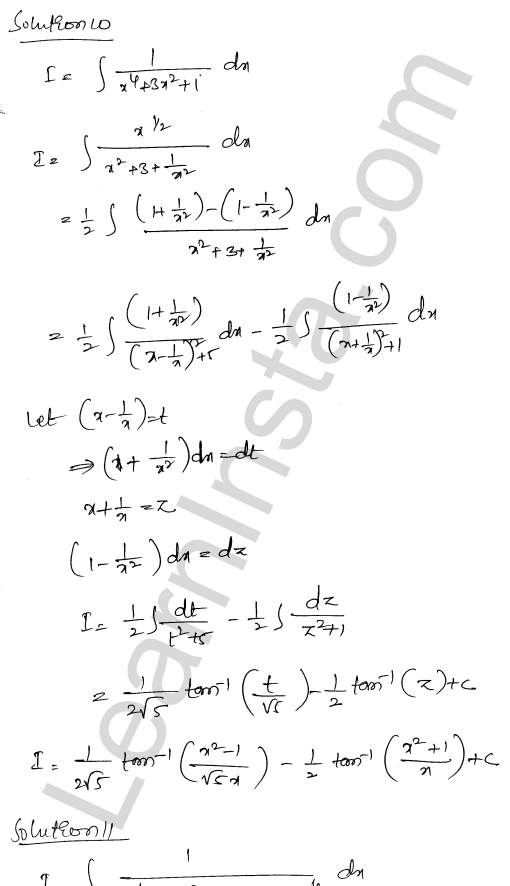 RD Sharma Class 12 Solutions Chapter 19 Indefinite Integrals Ex 19.31 8