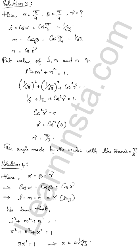 RD Sharma Class 12 Solutions Algebra of Vectors Chapter 23 Ex 23.9 2