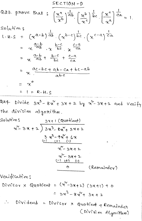 Maths Sample Papers for Class 9 Set 1 12