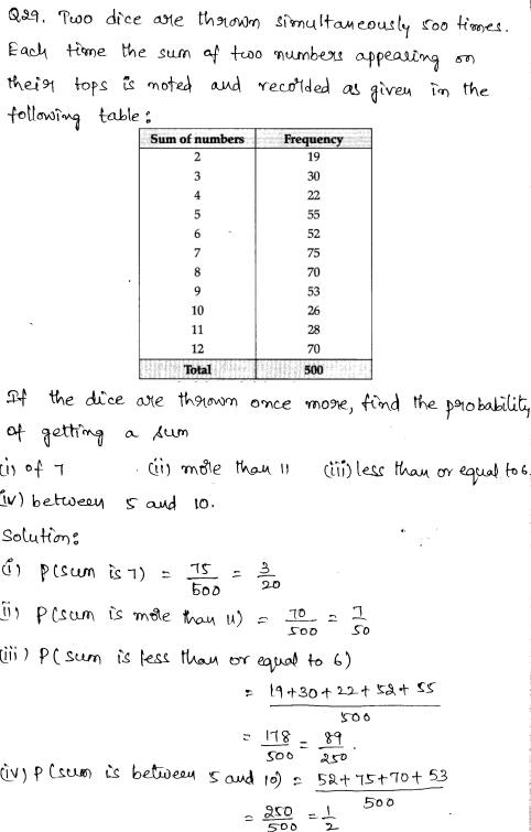 Solved CBSE Sample Papers for Class 9 Maths Paper 1 16