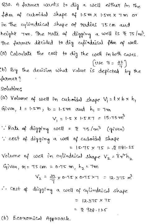Solved CBSE Sample Papers for Class 9 Maths Paper 1 17