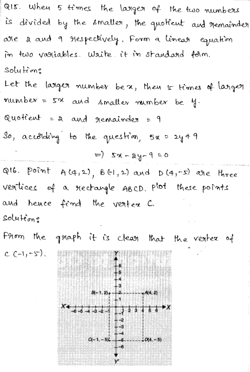 CBSE Sample Papers for Class 9 Maths Solved paper 1 7