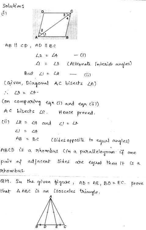 Sample Papers for Class 9 Maths Solved paper 1 9