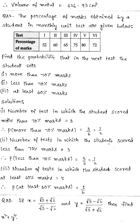 Maths Sample Papers for Class 9 Set 2 12