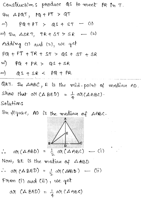 CBSE Sample Papers for Class 9 Maths Solved paper 2 15
