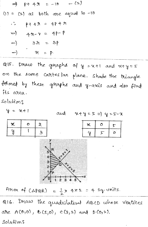 CBSE Sample Papers for Class 9 Maths Solved paper 2 7