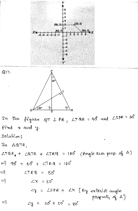 Solved CBSE Sample Papers for Class 9 Maths Paper 2 8