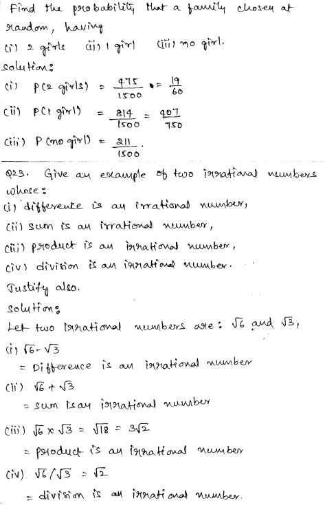 Maths Sample Question Papers for Class 9 Set 3 11