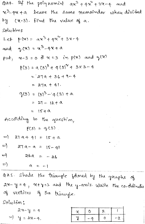 Maths Sample Papers for Class 9 Set 3 12
