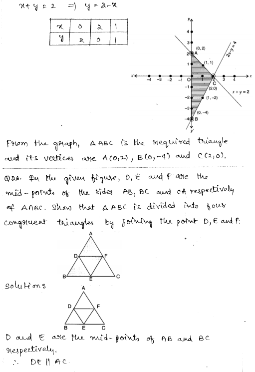 Sample Papers for Class 9 Maths Solved paper 3 13