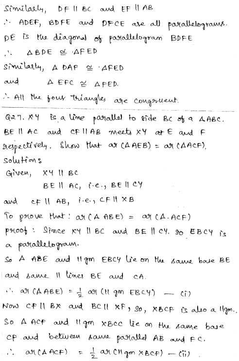 CBSE Sample Papers for Class 9 Maths Set 3 14