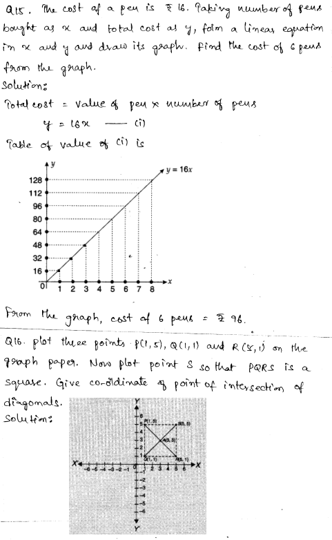 CBSE Sample Papers for Class 9 Maths Solved paper 3 7