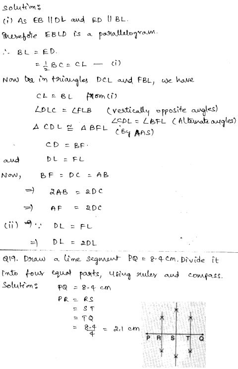 Sample Papers for Class 9 Maths Solved paper 3 9