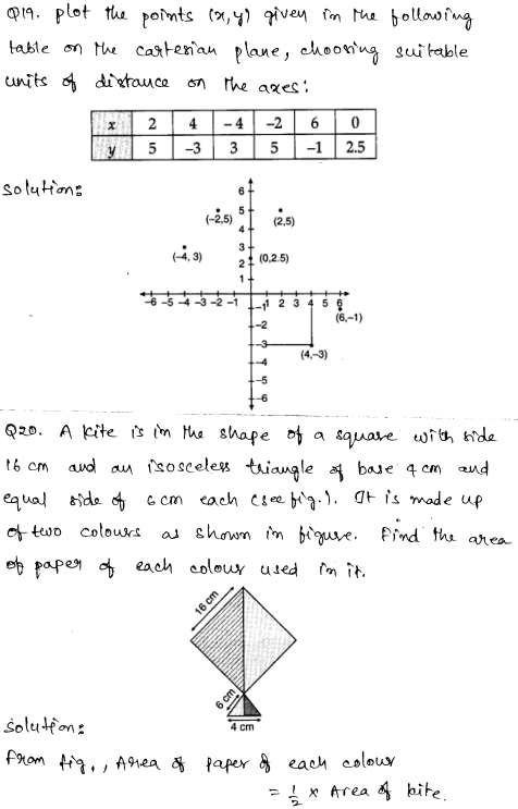 Solved CBSE Sample Papers for Class 9 Maths Paper 4 10