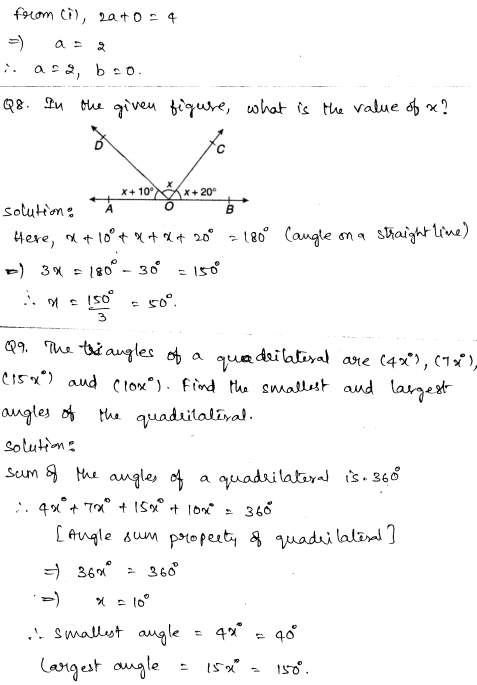 Maths Sample Question Papers for Class 9 Set 4 3