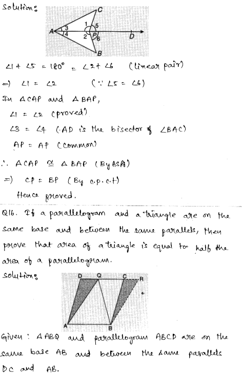 CBSE Sample Papers for Class 9 Maths Solved paper 4 7